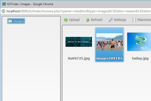 Nghean-Aptech : Sử dụng trình soạn thảo CKeditor tích hợp CKFinder